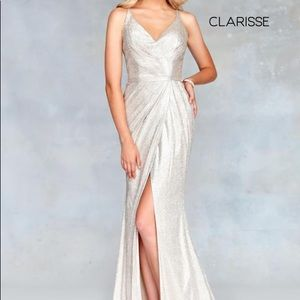 ⭐️HP NWT Clarisse Sexy Back Fitted Prom Dress